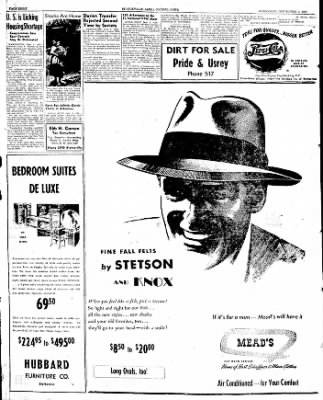 The Courier News from Blytheville, Arkansas on September 3, 1947 · Page 8