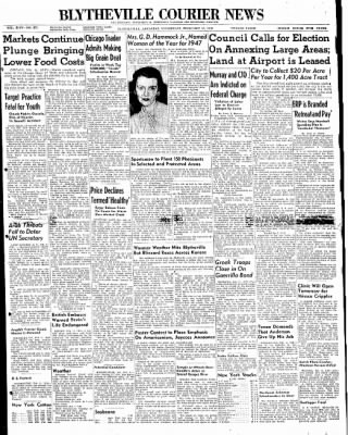 The Courier News from Blytheville, Arkansas on February 11, 1948 · Page 1