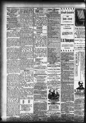 Pottsville Republican from Pottsville, Pennsylvania on May 29, 1889 · 2
