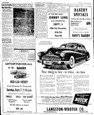 The Courier News from Blytheville, Arkansas on September 4, 1947 · Page 16