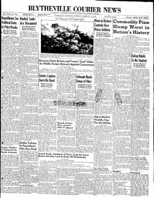 The Courier News from Blytheville, Arkansas on February 12, 1948 · Page 1