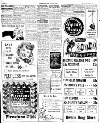 The Courier News from Blytheville, Arkansas on September 5, 1947 · Page 4