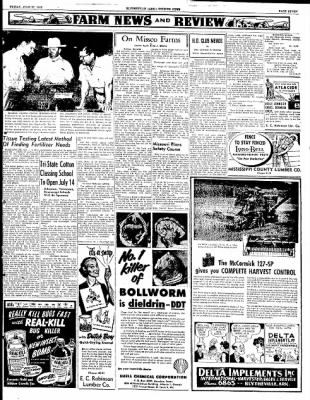The Courier News from Blytheville, Arkansas on June 27, 1952 · Page 4