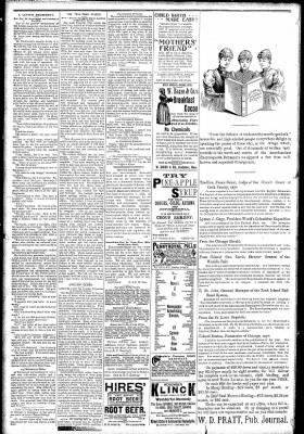 Logansport Pharos-Tribune from Logansport, Indiana on April 2, 1891 · Page 2
