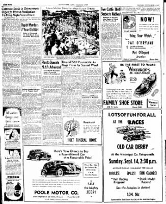 The Courier News from Blytheville, Arkansas on September 8, 1947 · Page 4