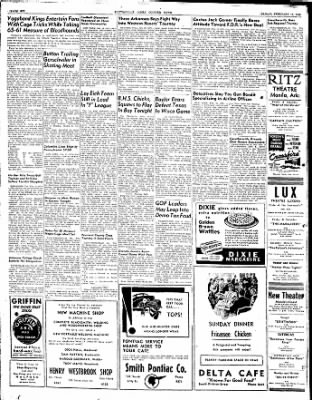 The Courier News from Blytheville, Arkansas on February 13, 1948 · Page 6