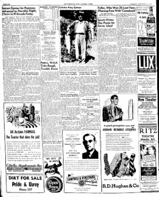 The Courier News from Blytheville, Arkansas on September 9, 1947 · Page 6