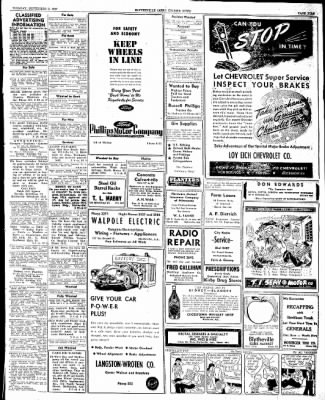 The Courier News from Blytheville, Arkansas on September 9, 1947 · Page 11