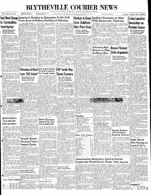 The Courier News from Blytheville, Arkansas on February 17, 1948 · Page 1