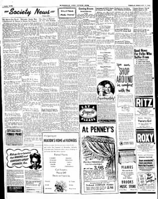 The Courier News from Blytheville, Arkansas on February 17, 1948 · Page 4