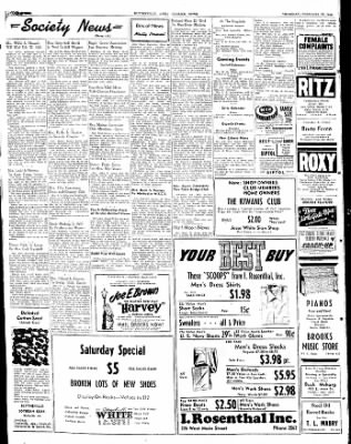 The Courier News from Blytheville, Arkansas on February 19, 1948 · Page 4