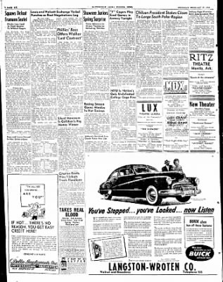 The Courier News from Blytheville, Arkansas on February 19, 1948 · Page 6