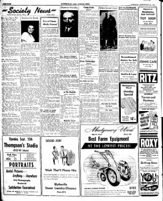 The Courier News from Blytheville, Arkansas on September 13, 1947 · Page 4