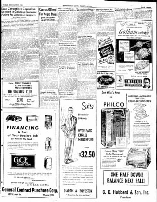 The Courier News from Blytheville, Arkansas on February 20, 1948 · Page 3