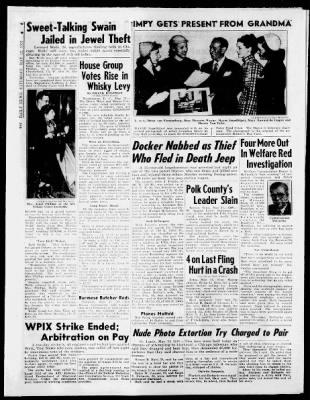 Daily News From New York On May 12 1951 150