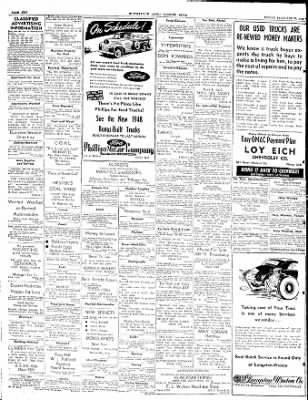The Courier News from Blytheville, Arkansas on February 20, 1948 · Page 10