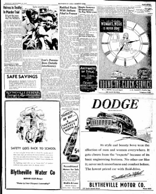 The Courier News from Blytheville, Arkansas on September 16, 1947 · Page 7