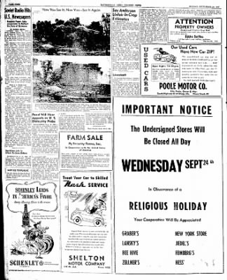 The Courier News from Blytheville, Arkansas on September 22, 1947 · Page 4