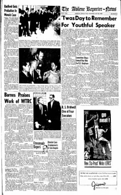 Abilene Reporter-News from Abilene, Texas on May 24, 1966 · Page 16
