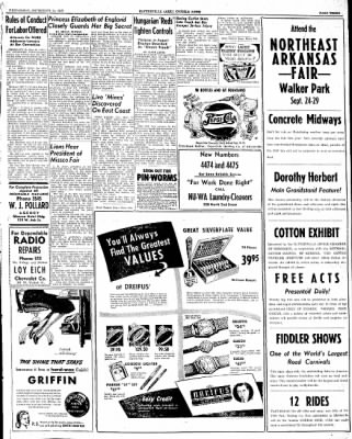 The Courier News from Blytheville, Arkansas on September 24, 1947 · Page 3