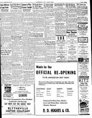 The Courier News from Blytheville, Arkansas on February 27, 1948 · Page 7