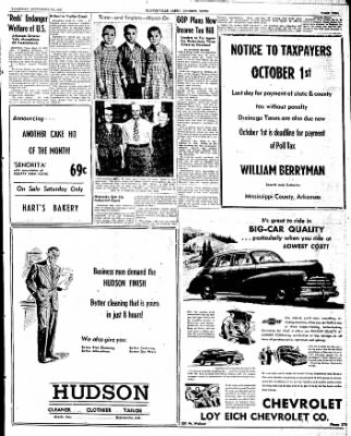 The Courier News from Blytheville, Arkansas on September 25, 1947 · Page 5