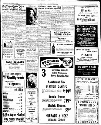 The Courier News from Blytheville, Arkansas on September 25, 1947 · Page 8