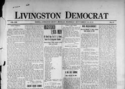The Livingston Democrat