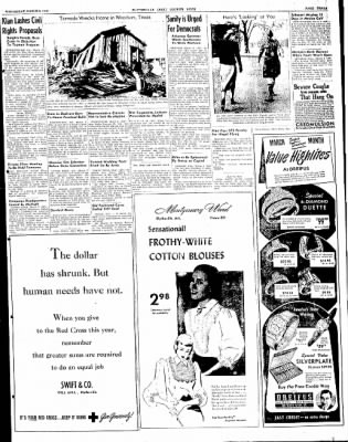 The Courier News from Blytheville, Arkansas on March 3, 1948 · Page 3