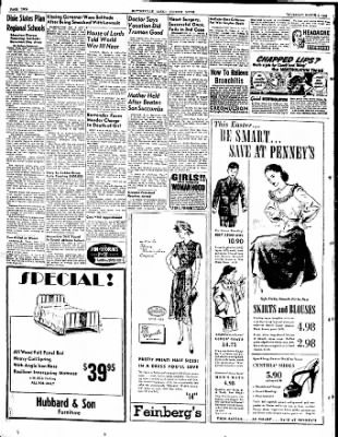 The Courier News from Blytheville, Arkansas on March 4, 1948 · Page 2