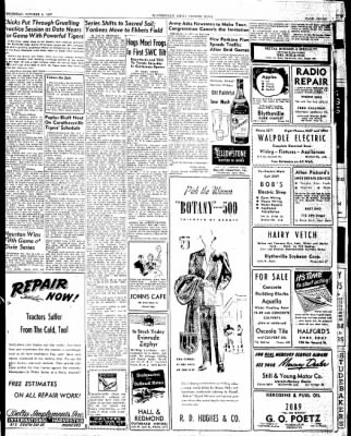 The Courier News from Blytheville, Arkansas on October 2, 1947 · Page 7