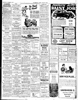 The Courier News from Blytheville, Arkansas on October 2, 1947 · Page 15