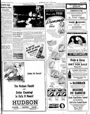 The Courier News from Blytheville, Arkansas on October 7, 1947 · Page 3