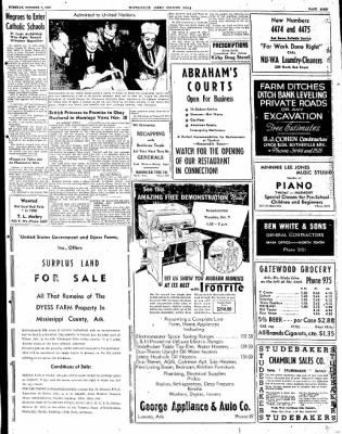 The Courier News from Blytheville, Arkansas on October 7, 1947 · Page 9