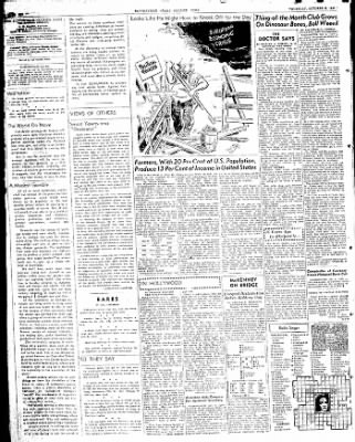 The Courier News from Blytheville, Arkansas on October 9, 1947 · Page 6
