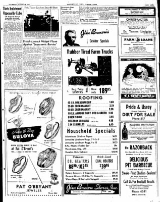 The Courier News from Blytheville, Arkansas on October 9, 1947 · Page 9