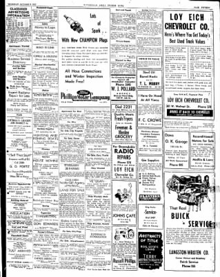 The Courier News from Blytheville, Arkansas on October 9, 1947 · Page 15
