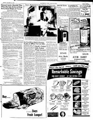 The Courier News from Blytheville, Arkansas on October 10, 1947 · Page 3