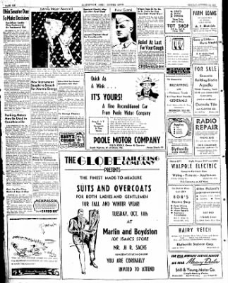 The Courier News from Blytheville, Arkansas on October 13, 1947 · Page 6