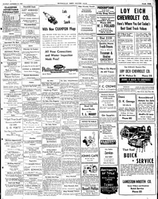 The Courier News from Blytheville, Arkansas on October 13, 1947 · Page 9