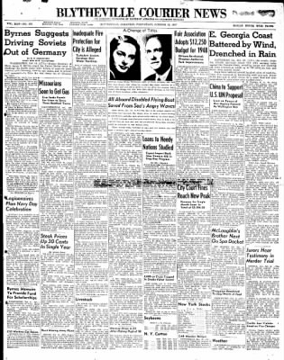 The Courier News from Blytheville, Arkansas on October 15, 1947 · Page 1
