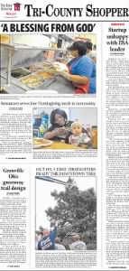 Sample The Daily Dispatch front page