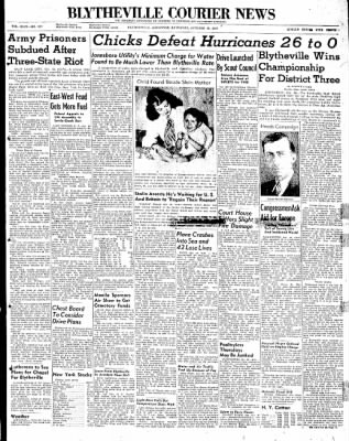 The Courier News from Blytheville, Arkansas on October 18, 1947 · Page 1