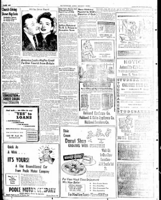 The Courier News from Blytheville, Arkansas on October 20, 1947 · Page 3
