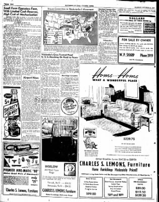 The Courier News from Blytheville, Arkansas on October 21, 1947 · Page 1