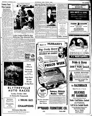 The Courier News from Blytheville, Arkansas on October 22, 1947 · Page 11