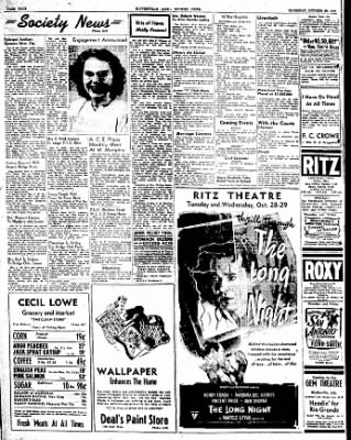The Courier News from Blytheville, Arkansas on October 23, 1947 · Page 4