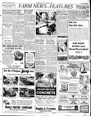 The Courier News from Blytheville, Arkansas on October 24, 1947 · Page 11