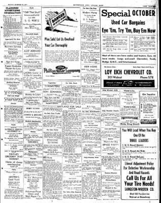 The Courier News from Blytheville, Arkansas on October 24, 1947 · Page 13