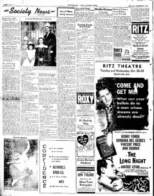 The Courier News from Blytheville, Arkansas on October 27, 1947 · Page 2